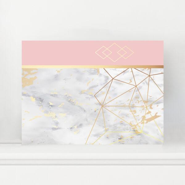 Minimalist Geometrik Kanvas Tablo