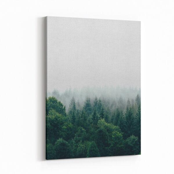 3'Lü Kombin Doğa Manzarası Kanvas Tablo Seti