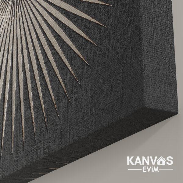 Dekoratif Soyut Modern Kanvas Tablo