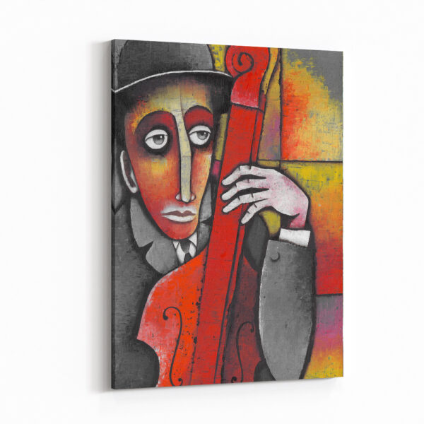 Sokak Müzisyenleri ve Matmazeller Kanvas Tablo Seti