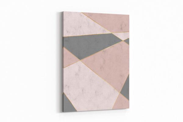 3'Lü Kombin Geometrik Kanvas Tablo Seti
